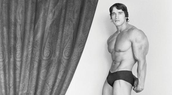 Arnold Schwarzenegger, 1976. © Robert Mapplethorpe Foundation