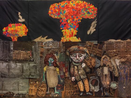 El mundo prometido a Juanito Laguna (tríptico), 1962