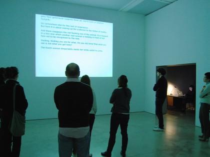 Dora García. Instant Narrative, 2006.