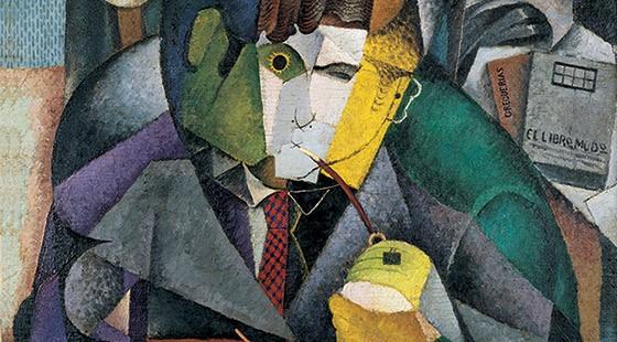 Diego Rivera. Retrato de Ramon Gomez de la Serna, 1915.