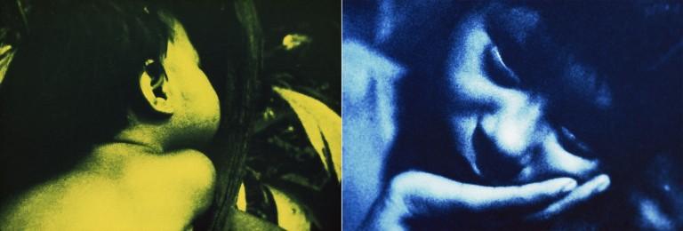 Claudia Andujar. Sueño verde azulado, ca. 1970.