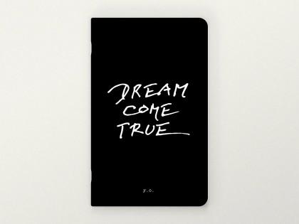 yoko ono big black notebook dream come true
