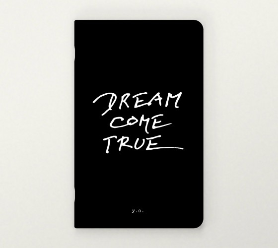 yoko ono big black notebook dream come true