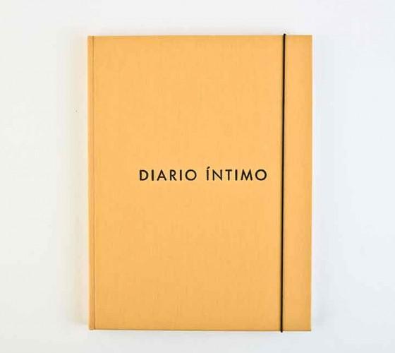 Jorge Macchi Diario íntimo // Libro de artista