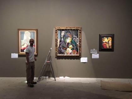 Diego Rivera en el Grand Palais