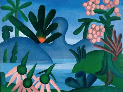Tarsila Do Amaral_O lago_1928