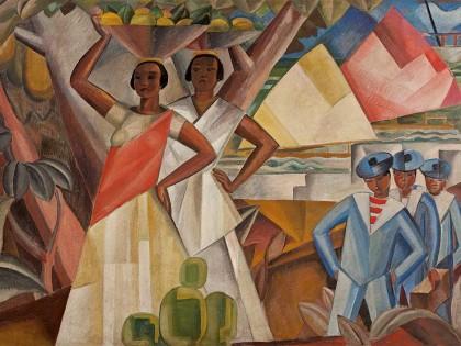 John Graz. As baianas, ca. 1930.