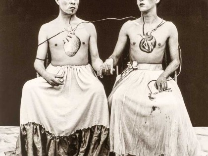 Yeguas del Apocalipsis. Las dos Fridas, 1989.