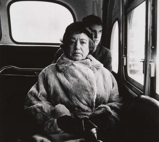 Diane-Arbus-3.-Lady-on-a-bus-N.Y.C.-1957