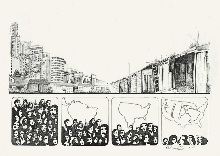 De la Realidad. Relevamientos para el sueño de la casita propia, 1975.