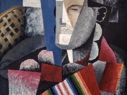 Diego Rivera. Retrato de Martín Luis Guzmán, 1915.