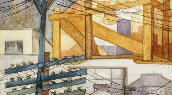 Fermín-Revueltas,-Andamios-exteriores-(1923)
