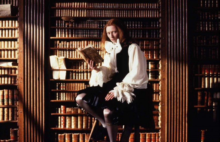 Tilda Swinton en Orlando (1992), de Sally Potter.